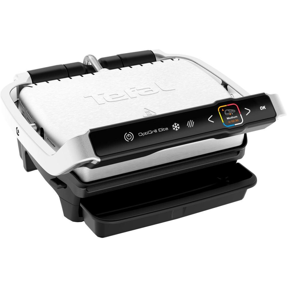 Електрогриль притискний Tefal OptiGrill Elite GC750D30