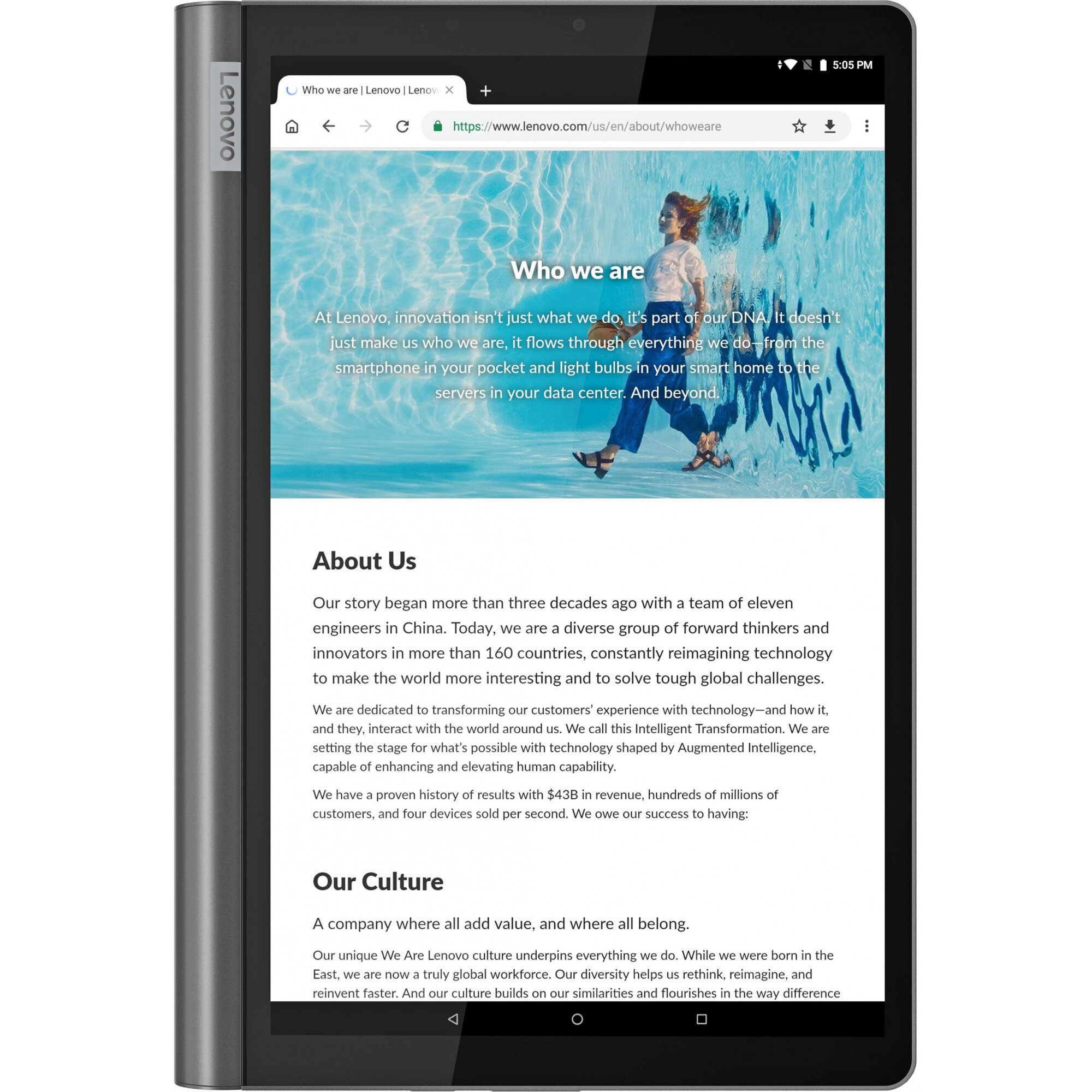 Планшет Lenovo Yoga Smart Tab YT-X705L 4/64 LTE Iron Grey (ZA530006UA)